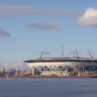 Строительство стадиона :: ДС 13 Митя