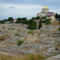 На развалинах Херсонеса в Крыму :: Константин Жирнов