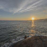закат,океан,Бали :: Александр