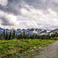 Буйбинский перевал в Саянах :: юрий Амосов