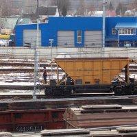 Железная дорога-42. Огромное количество  товарных составов! :: Фотогруппа Весна.