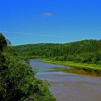 средь гор бежит река :: petyxov петухов