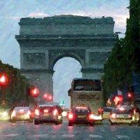 Ночной Париж :: Юрий Медведев