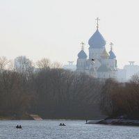 Николо-Перервинский монастырь на рассвете....... :: Игорь Егоров