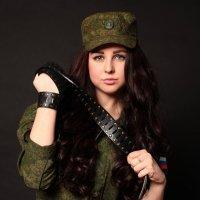 Стильная защитница. Проект на 23 февраля :: Диана Топал
