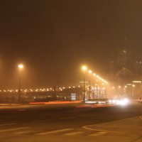 Туман в городе :: Вера Моисеева