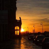 Февральский закат.. :: Марина Павлова