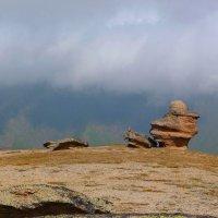 Грибы или Столы богов на северном склоне г. Эльбрус. Высота 3000 м. :: Vladimir 070549