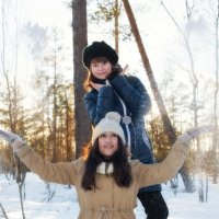 Зимние забавы :: Наталья Ерёменко