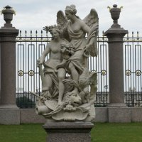 Мир и Победа (Ништадтский мир). П. Баратта. 1725 год :: Елена Павлова (Смолова)