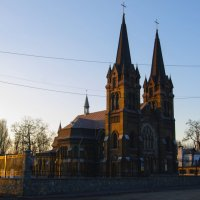 Греко - католический собор ( г.Днепродзержинск) :: Ксения Довгопол