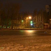 Разноцветные огни :: Люда Свой край