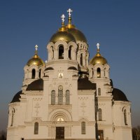 """""""Горят"""" кресты на храме... :: Виталий Павлов"""