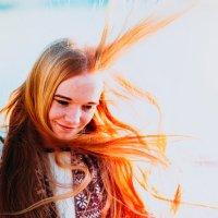 Солнечная Кристина :: Alexey Kudinoff