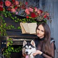 фотосессия с хаски :: Mari - Nika Golubeva -Fotografo