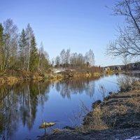 Рукотворная река (Отводной канал Конаковской ГРЭС). :: Михаил (Skipper A.M.)