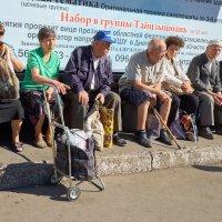 В ожидании трамвая :: Dmytro Aliokhin