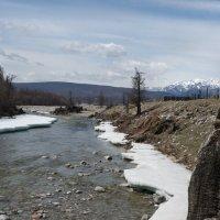 Река снежные берега :: Александр Бабарика