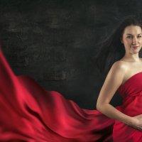 Студийный портрет будущей мамы :: Сергей Гаварос