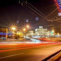 Ночной город. Дом Пашкова в Москве. :: Александр Лебедев
