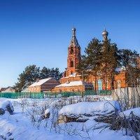 Зима в разгаре.Село Н-Спасское.Тамбовщина :: Александр Тулупов