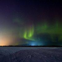 северное сияние :: евгений Смоленцев