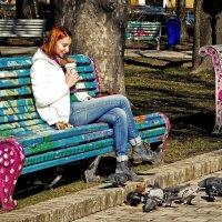 Девушки и ВЕСНА. Фото№2 Безмятежность... :: Владимир Бровко