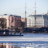 Весна на Неве. :: Андрей Якимюк