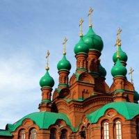 Купола Свято - Троицкой церкви :: Натали Акшинцева