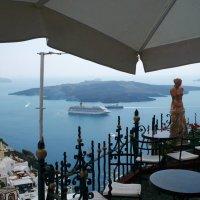 Кафе с видом на вулкан. :: Чария Зоя