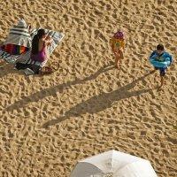 about shades on the beach :: Sofia Rakitskaia