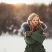 Зима бывает и теплой. :: Александр Лихачев