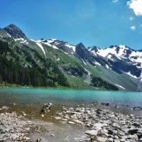 Верхниее Мультинское озеро. Алтай :: Schbrukunow Gennadi