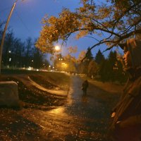 натянутый вечер :: Жорец Калмык