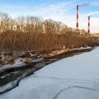 Река в марте :: Любовь Потеряхина