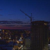 Закат из окна :: Максим Бородин