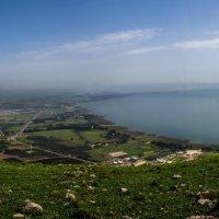 Панорама Галилеи и озера Кинерет :: Леонид Лившиц