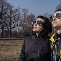 Что на небе ты ищешь, скажи, человечество? :: Ирина Данилова