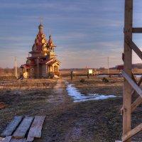 Реконструкция ( на закате ) :: Андрей Куприянов
