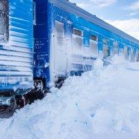 Сквозь снежные тоннели :: Константин Ольховка