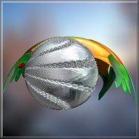 серебристый шар :: linnud