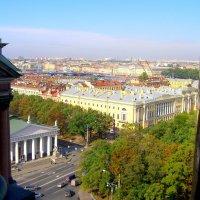 вид на Манеж и ельцинскую библиотеку :: Сергей