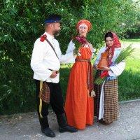 Сценка из сельской жизни :: Николай Дони