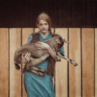Вика и козлятки :: Дарья Адамова