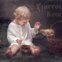 Пасхальная открытка :: Оксана Новицкая