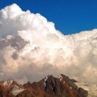 горы. горные облака. :: Горный турист Иван Иванов