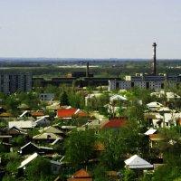 Русский город Сердобск сверху :: Юрий Рачек