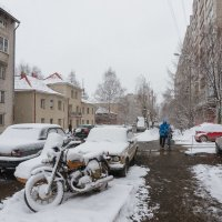 Зима не сдается :: Валентин Котляров
