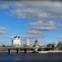 Вид на Псковский Кремль. :: Fededuard Винтанюк