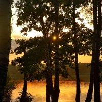 закат на Бисеровом озере :: sergej-smv